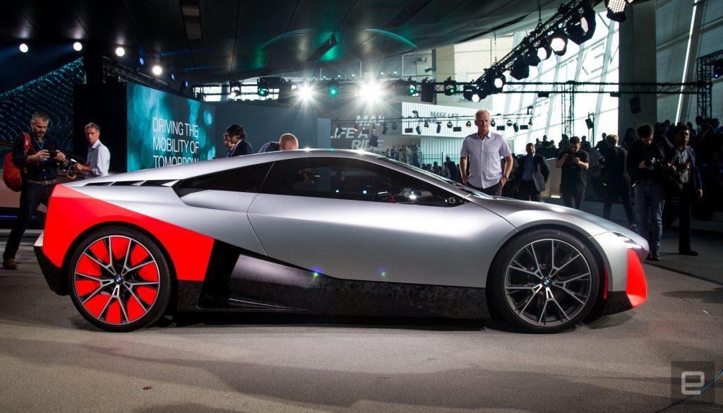 طرح مفهومی بی ام و ویژن ام نکست (BMW Vision M next)