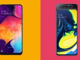 مقایسه گوشی های سامسونگ گلکسی A50 و A80