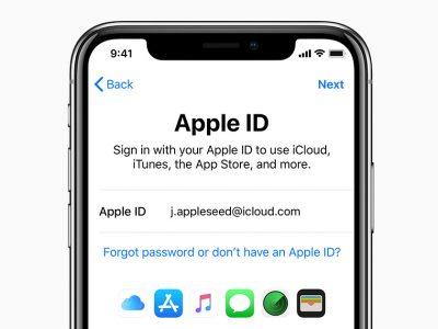 چگونه اپل آیدی بسازیم