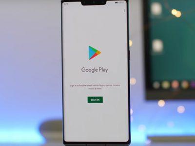 نصب گوگل پلی استور در هواوی