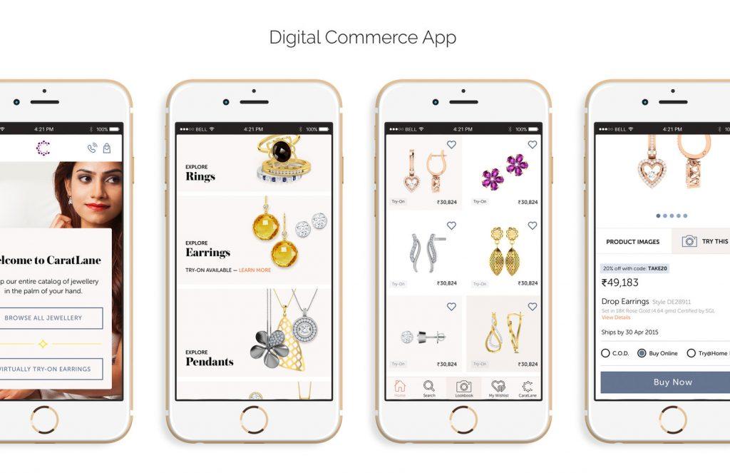 اپلیکیشن طلا و جواهرآلات سه بعدی