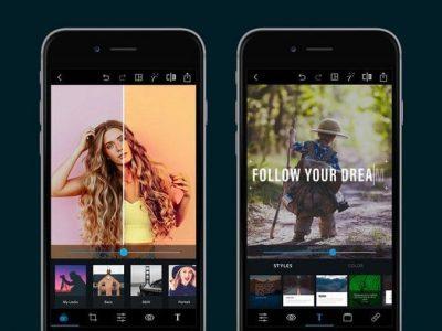 بهترین اپلیکیشن ویرایش حرفه ای عکس و ویدیو گوشی