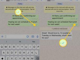 زمان دقیق خوانده شدن پیام در واتساپ و اینستاگرام