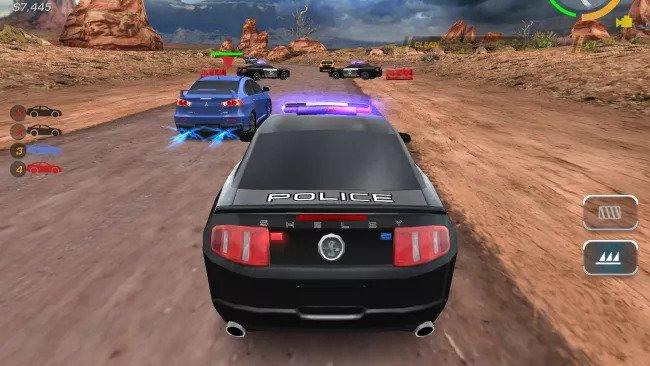 بهترین بازی اندروید خرداد need for speed hot pursuit