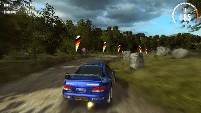 بازی rush rally 3