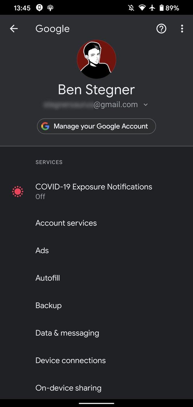 بررسی امنیتی گوگل