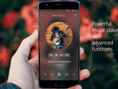 اپلیکیشن موزیک پلیر گوشی
