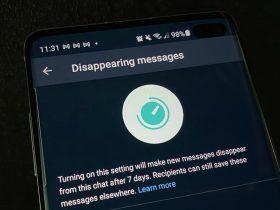 مخفی کردن پیام در واتساپ