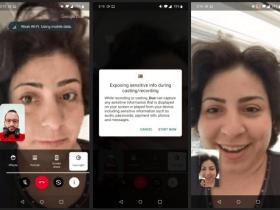 اشتراک گذاری صفحه نمایش در Google Duo