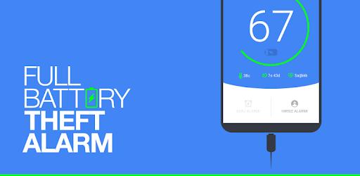اپلیکیشن هشدار شارژ شدن گوشی