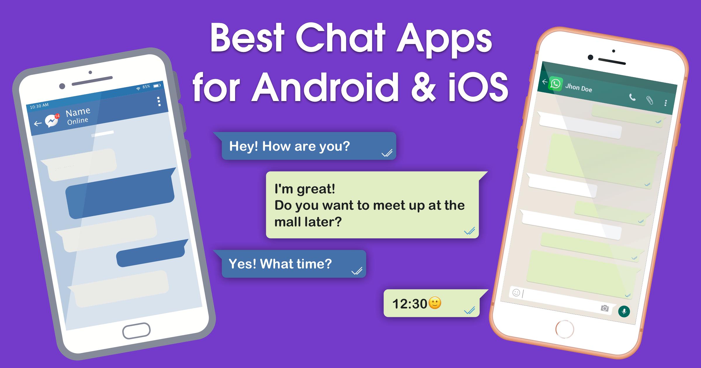 10 اپلیکیشن چت رایگان برای پیام رسانی در گوشی و یا کامپیوتر شما