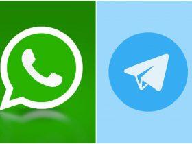 علامت چک در واتساپ و تلگرام