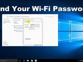 نحوه پیدا کردن رمز عبور وای فای